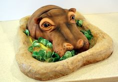 Awesome Sculpted Cakes | ... cake? Or maybe Rocket blasting into space? Share your awesome ideas