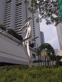 Deva, by Lin Emery. See http://www.publicart.sg/?q=Lin-Emery_Deva#comment-275