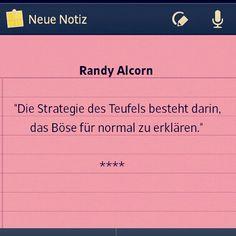 - Randy Alcorn