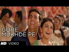 Presenting full video song from Akshay Kumar starrer movie Special Gore Mukhde Pe Zulfa Di Chaava is a Punjabi track in the vocals of Aman Trikha, Shabab. Bollywood Music Videos, Bollywood Movie Songs, Hindi Movie Song, Song Lyrics, Mp3 Song, 90s Hit Songs, Special 26, Gold Movie, Party Songs