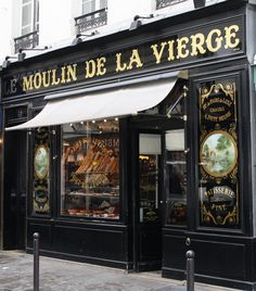 Le Moulin de la Vierge - Historical boulangerie 64, rue St Dominique 75007 PARIS.  Oh my - the croissant!