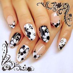 * Nails & Co, 3d Nails, Cute Nails, Nail Black, Basic Nails, Learn Art, Pedicures, Beautiful Nail Art, Gel Nail Polish