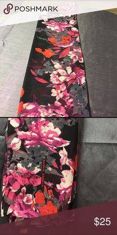 Kirna Zabete for Target Kirna Zabete for Target Floral Stamped scarf. In exceptional condition. No rips,tears or stains. 😊feel free to make me an offer Kirna Zabete Accessories Scarves & Wraps