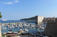 Dubrovnik's old town walls and harbour #awesomeaugust