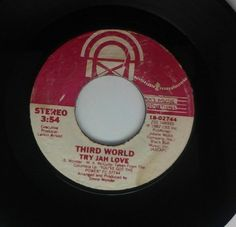 Third world try Jah love  Records 45 RPM 7""