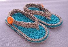 Ravelry: Chubby Baby Flip-Flop Sandals pattern by Elizabeth Mareno