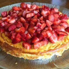 Çilekli Cheesecake ( tabansız)