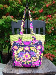 The Lucy Tote Bag from So Sew Easy