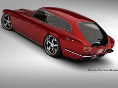 Bo Zolland Makes Volvo P1800 Look Awesome Again- this is the car my c30 was based off of