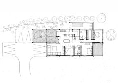 Image 11 of 13 from gallery of Olive Grove House  / Team Green Architects. Floor Plan