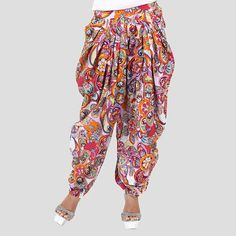 funky retro patiala pants (style not so much the pattern)