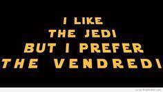 I Like the Jedi - GraphicAmi