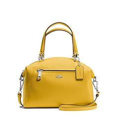 aedad81d774 COACH Women s Pebbled Prairie Satchel DK Grass Satchel  Handbags  Amazon.com