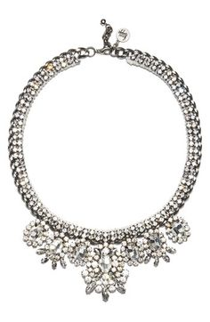 SOMETHING SPARKLY | Venessa Arizaga 'My Fair Lady' Statement Necklace available at #Nordstrom