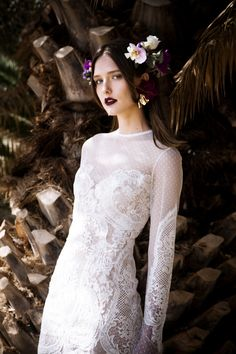 Christos Costarellos 2017 SPRING BRIDAL COLLECTION - The Coordinated Bride