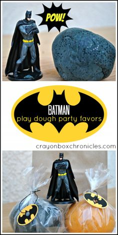 Batman Play Dough