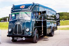 BMC Ltd Competition Dept. - The BMC race car transporter as used in period will add to the ambiance at MG Live!, this weekend [21-22 June 2015] @ Silverstone.