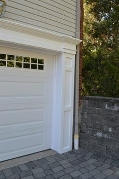 Beautiful Azek Garage Door Trim
