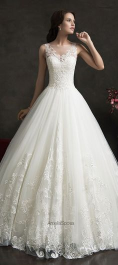 BEST  WeddingDresses of 2015 - Amelia Sposa 2015 Wedding Dress Cheap  Wedding Dress 004fbc55b30