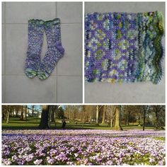 Lilja sokk Lillcat Design