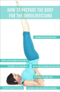 How to prepare the body for Shoulderstand