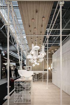 Maison&Objet January 2017 - Brokis - lights - WHISTLE by Lucie Koldova- design - interior.