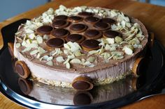 Mandel-Toffifee-Torte #Mandel #Toffifee #Torte