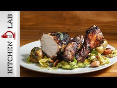 Black chicken by Greek chef Akis Petretzikis. An super amazing roast chicken made with cacao, ginger, garlic, onion, all-spice and sage that will impress! Greek Recipes, Raw Food Recipes, Chicken Pizza Recipes, Black Chickens, Good Roasts, Chicken With Olives, Nutrition Chart, Processed Sugar, Roast Chicken
