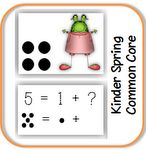 On special now! 6 math workstations and 10 printables addressing 5 different Kinder common core standards.