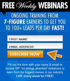 Recruiting network marketers  with webinars Free webinars on Wednesday  Nights.  http://ezone.mlsp.com/webinar-registration