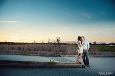 Silver Sands CT State Park Engagement Photos