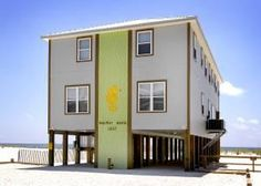 "Gulf Shores, AL: Bring your whole family ""together again"" at this Gulf-front 6 bedroom, 6.5 bath home on West Beach in Gulf Shores. What could be better than shari..."