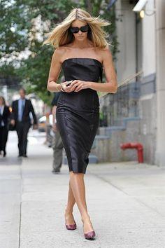 Elle Macpherson Black Dress