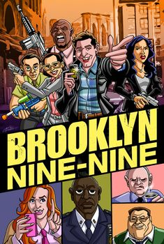 2013 Brooklyn Nine-Nine by GabeLamberty on deviantART