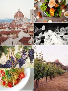 Italian Romance: wedding ideas and inspiration.