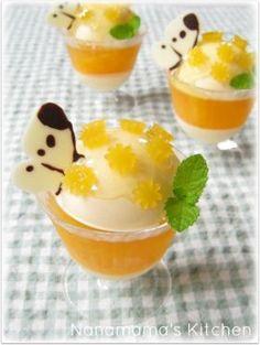 「オレンジたっぷりチーズのムース」ナナママちゃん | お菓子・パンのレシピや作り方【corecle*コレクル】