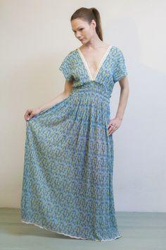 Kleid, Marie, Sommerkleid, Neue Kollektion von rote-tulpe auf DaWanda.com