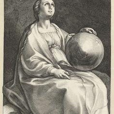 Urania, Hendrick Goltzius, 1592 - Rijksmuseum
