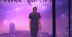 Miss Colorado Talks About Nursing Instead Of another talent. Goodness this was surprisingly touching.