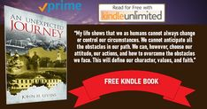 Book Club Books, New Books, Page Flip, An Unexpected Journey, Free Day, Free Kindle Books, Live Life, Attitude, Join