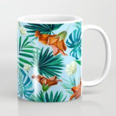 Tropical pattern Mug