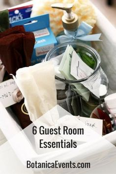 Celebrate your houseguests with these #6GuestRoomEssentials || #GuestRoom #GuestRoomEssentials