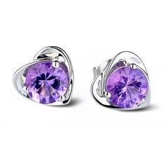 Find More Stud Earrings Information about New brincos boucles d'oreilles,Simulated Diamond Rhinestone Fashion Crystal White/Purple Earrings for Women Bridal Wedding R286,High Quality jewelry t-shirt,China jewelry making supplies tools Suppliers, Cheap jewelry bracelets for men from ULove Fashion Jewelry Store on Aliexpress.com