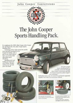 Sir John Cooper ~ Whilst famous for his creation of the Mini… Classic Mini, Classic Cars, Classic Auto, Mini Morris, Mini Copper, Car Advertising, Ads, Automobile, Honda Odyssey