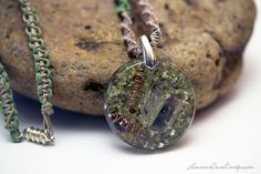 Double Pointed Tibetan Quartz Crystal by LaurensOwnDesign on Etsy
