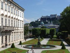 Explore the city..Mozart's birthplace, where Sound of Music was filmed, and the many many beautiful architecture + scenery.