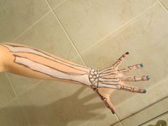 halloween skeleton arms