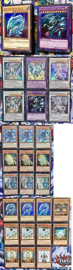 Yu-Gi-Oh Individual Cards 31395: Yugioh Complete Competitive Tournament Ready Premium Blue-Eyes White Dragon Deck -> BUY IT NOW ONLY: $99.99 on eBay!