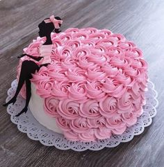Ideas for birthday cake decorating frosting cream cheeses Cake Decorating Frosting, Cake Decorating Designs, Birthday Cake Decorating, Cake Designs For Kids, Birthday Decorations, Decorating Ideas, Pretty Cakes, Beautiful Cakes, Elegant Birthday Cakes