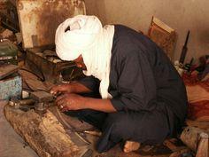Tuareg silversmiths www.berbersilver.com